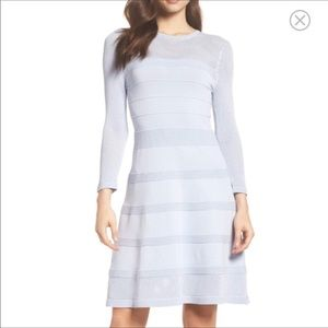 NWT Vince Camuto Baby Blue Fit and Flare Dress